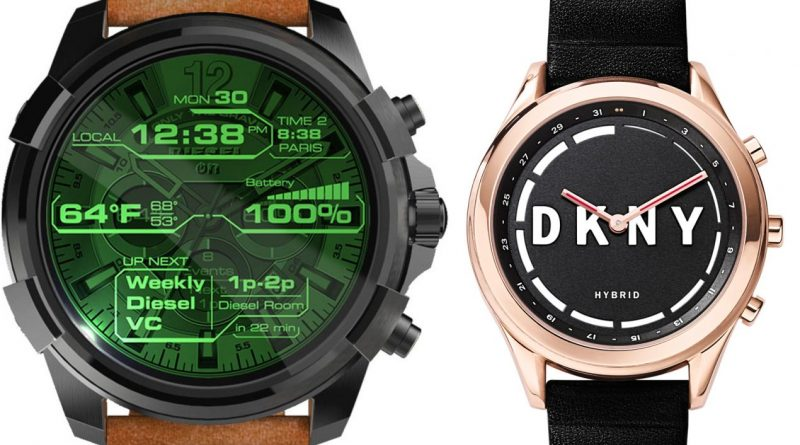 fossil smartwatch android wear